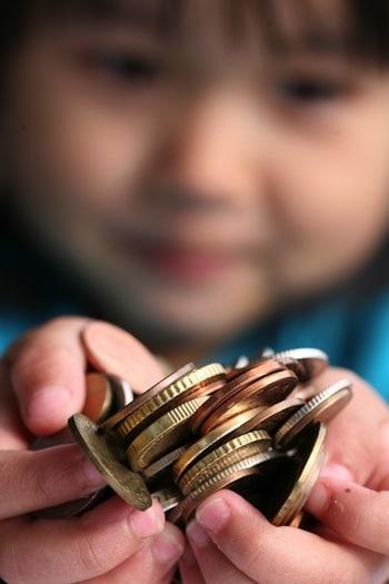 Taschengeld fuer die Entwicklung