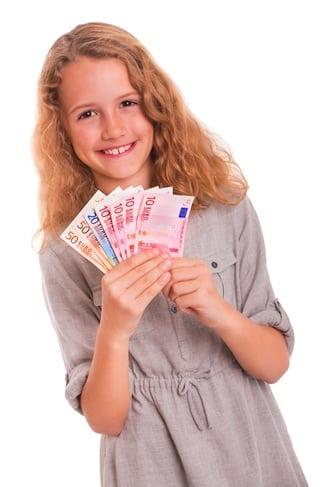 Taschengeld mit 11
