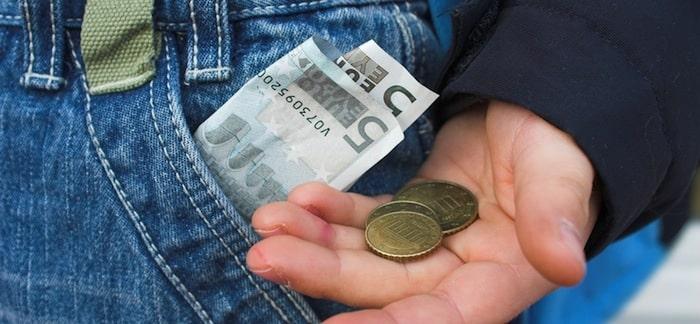 Taschengeld mit 5 Jahren