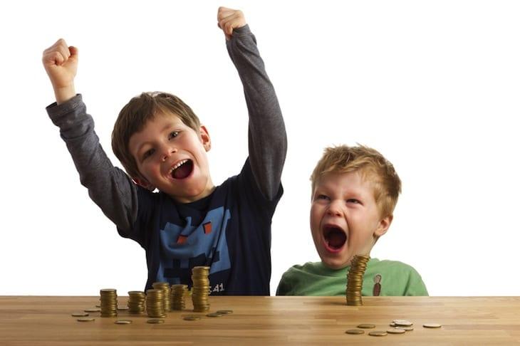 Taschengeld mit 6 Jahren