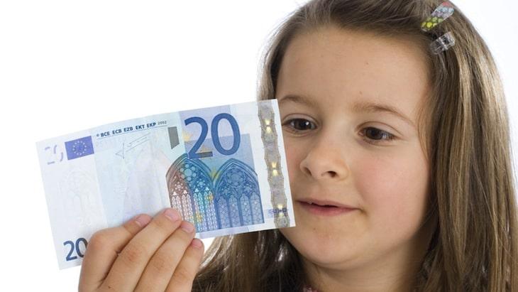 Taschengeld mit 9 Jahren